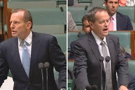 Abbott Shorten Leadership